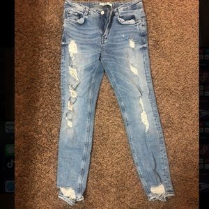 Zara Distressed Jeans